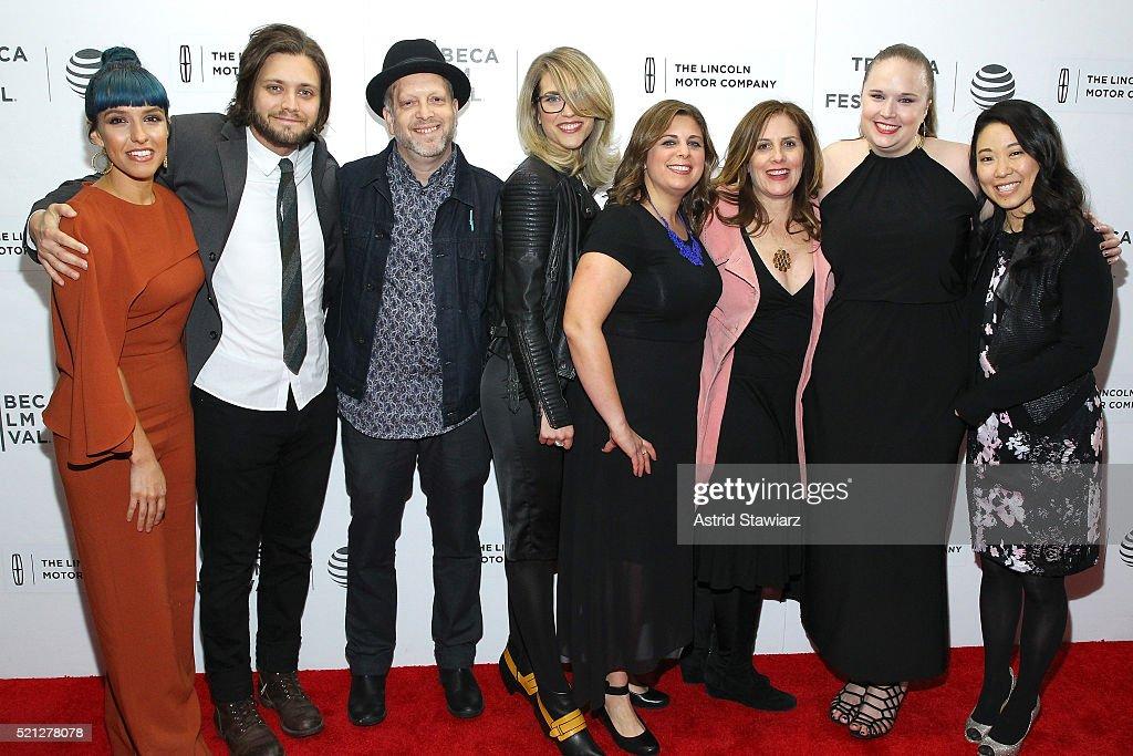 Amira Dughri, Andrew Saunderson, Paul Stone, Kahane Cooperman, Kokoe Tanaka-Suwan attend the 2016 Tribeca Film Festival Shorts: New York Then at Regal Battery Park Cinemas on April 14, 2016 in New York City.