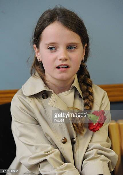 Amira Willighagen performs at Laerskool Van Riebeeck on March 6 2014 in Kempton Park South Africa The 9yearold was a hit on YouTube after she...