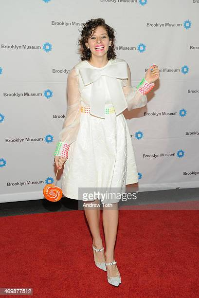 Amirah Kassem attends the 5th Annual Brooklyn Artists Ball at Brooklyn Museum on April 15 2015 in New York