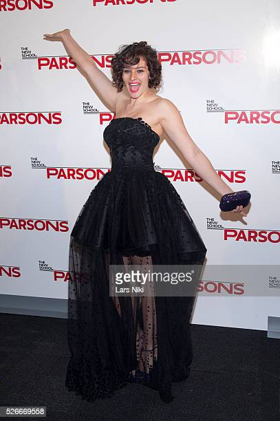 Amirah Kassem attends the '67th Annual Parsons Fashion Benefit' at the River Pavilion Jacob K Javitz Convention Center in New York City �� LAN