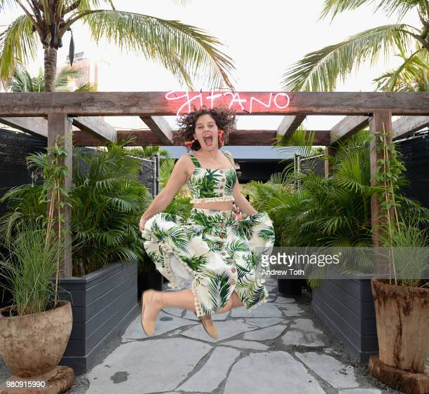 Amirah Kassem attends the Gitano NYC preview celebration on June 21 2018 in New York City