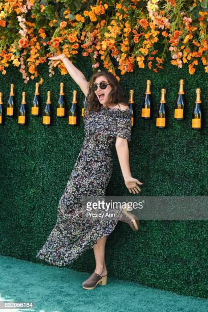 Amirah Kassem attends The Tenth Annual Veuve Clicquot Polo Classic Arrivals at Liberty State Park on June 3 2017 in Jersey City New Jersey