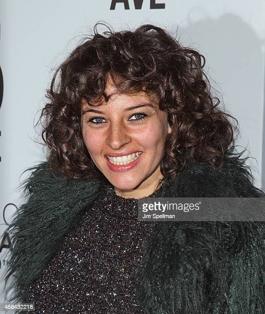 Amirah Kassem attends the Topshop Topman New York City Flagship Opening Dinner at Grand Central Terminal on November 4 2014 in New York City