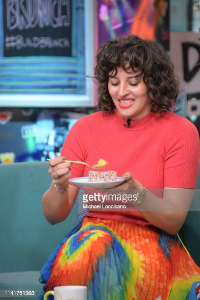 Amirah Kassem visits the Build Brunch to discuss her book 'The Power of Sprinkles' at Build Studio on April 10 2019 in New York City