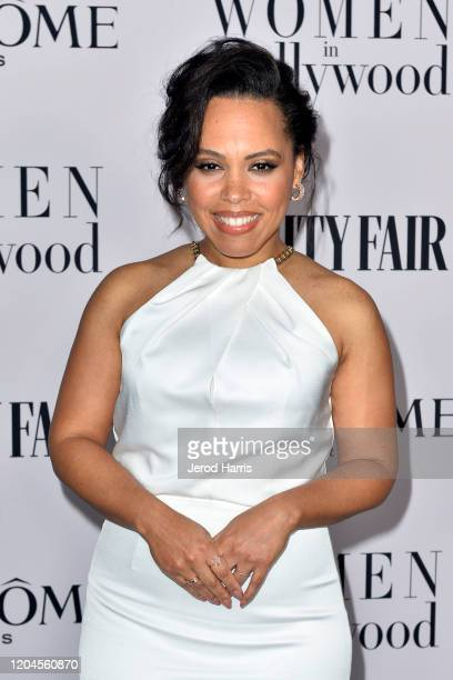 Amirah Vann arrives at Vanity Fair and Lancôme Women In Hollywood Celebration at Soho House on February 06 2020 in West Hollywood California