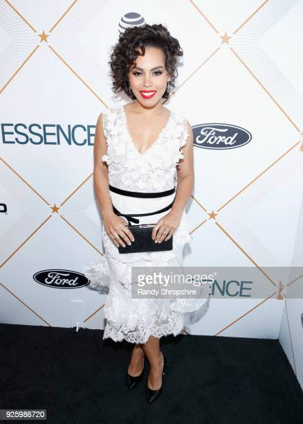 Amirah Vann attends the 2018 Essence Black Women In Hollywood Oscars Luncheon at Regent Beverly Wilshire Hotel on March 1 2018 in Beverly Hills...