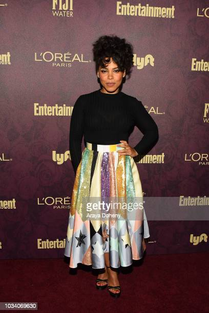 Amirah Vann attends the 2018 PreEmmy Party hosted by Entertainment Weekly and L'Oreal Paris at Sunset Tower Hotel on September 15 2018 in West...