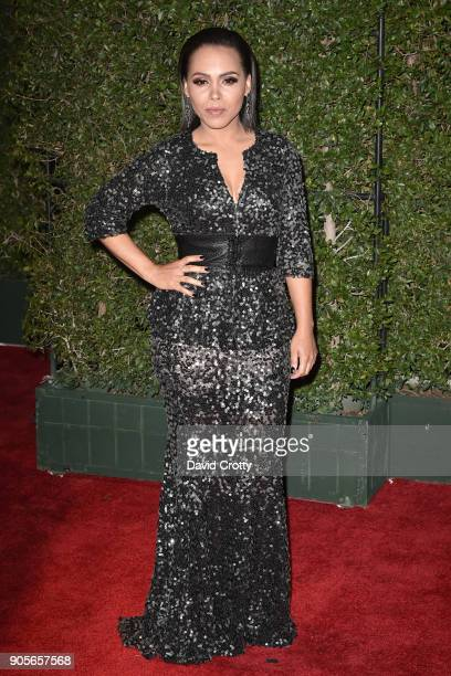 Amirah Vann attends the 49th NAACP Image Awards Arrivals at Pasadena Civic Auditorium on January 15 2018 in Pasadena California