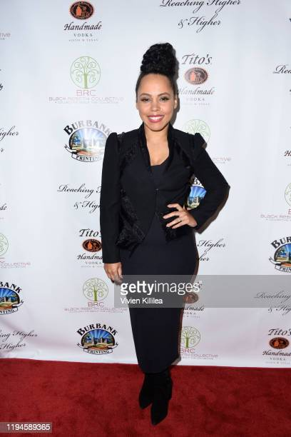 Amirah Vann attends The Black Rebirth 1st Annual Fundraiser at Nate Holden Performing Arts Center on January 18 2020 in Los Angeles California Photo...