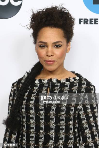 Amirah Vann attends the Disney ABC Television Hosts TCA Winter Press Tour 2019 at The Langham Huntington Hotel and Spa on February 05 2019 in...