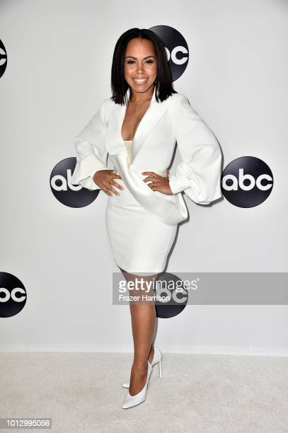 Amirah Vann attends the Disney ABC Television TCA Summer Press Tour at The Beverly Hilton Hotel on August 7 2018 in Beverly Hills California