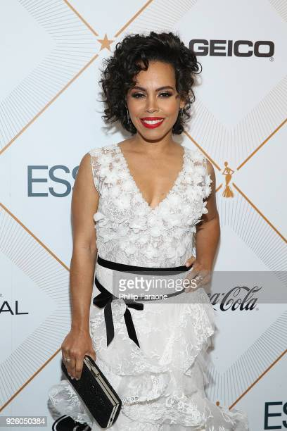 Amirah Vann attends the Essence 11th Annual Black Women In Hollywood Awards Gala at the Beverly Wilshire Four Seasons Hotel on March 1 2018 in...