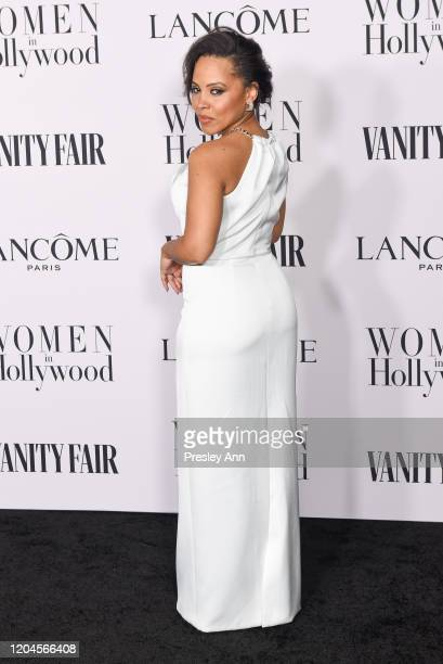 Amirah Vann attends the Vanity Fair and Lancôme Women in Hollywood celebration at Soho House on February 06 2020 in West Hollywood California