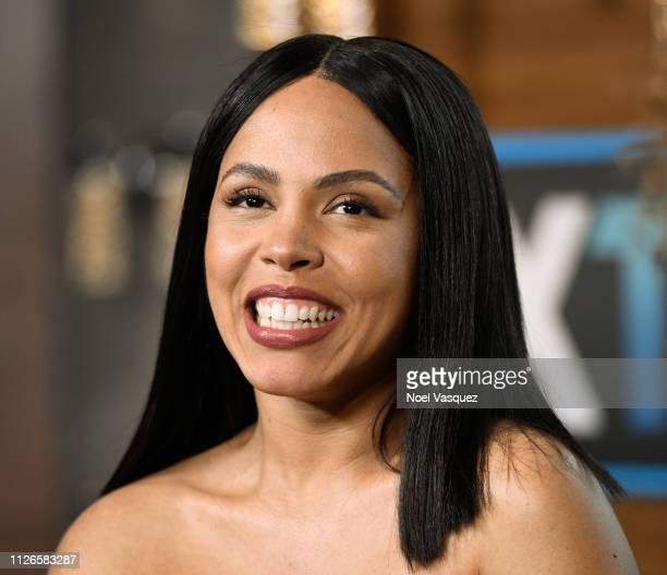 Amirah Vann visits 'Extra' at Universal Studios Hollywood on January 31 2019 in Universal City California