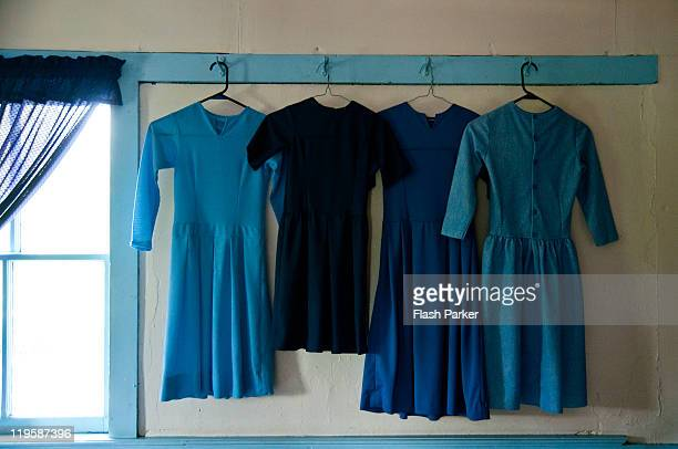 Amish Dresses In Blue