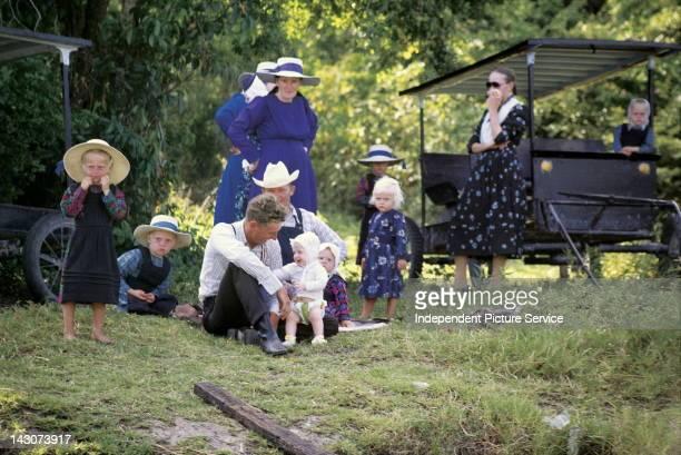 Amish Family Belize
