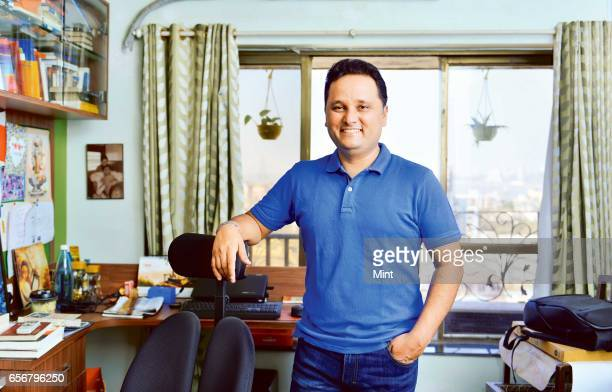 Amish Tripathi an Indian author photographed at his home at Mahim on January 27 2017 in Mumbai India