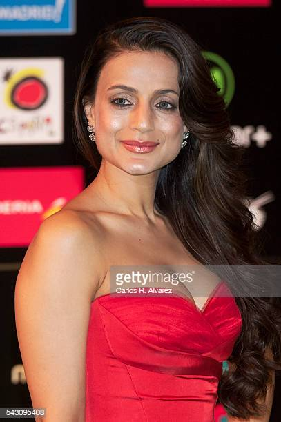 Amisha Patel attends the 17th IIFA Awards at Ifema on June 25 2016 in Madrid Spain
