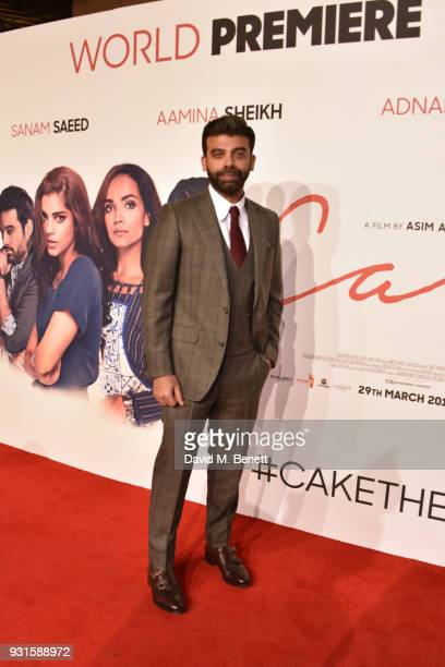 Amit Bhatia attends the UK Premiere of 'Cake' at the Vue West End on March 13 2018 in London England