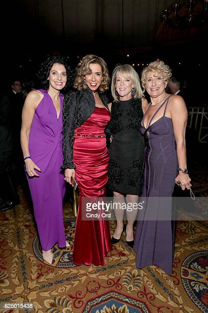 Amit Holckner Michelle Levine and Yola Rose attend the 2016 Angel Ball hosted by Gabrielle's Angel Foundation For Cancer Research on November 21 2016...