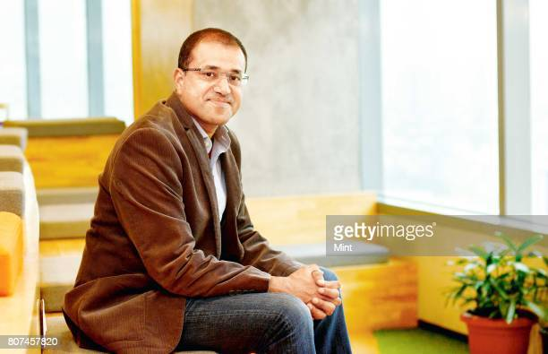 Amit Jain President of UBER India photographed during an interview with Mint