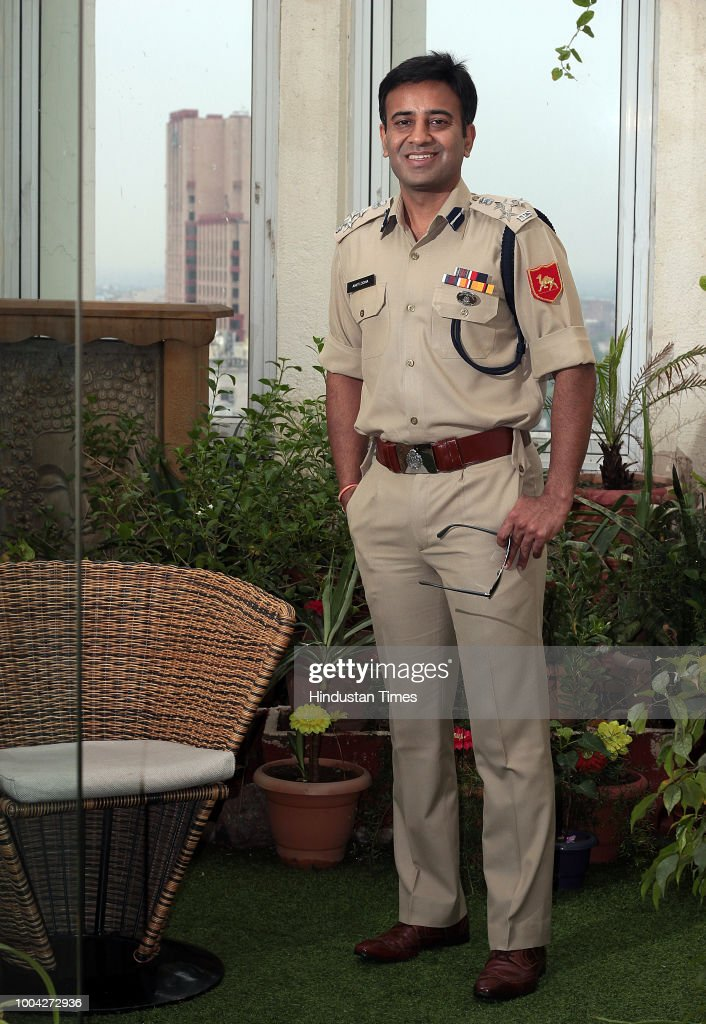 Profile Shoot Of BSF DIG Amit Lodha