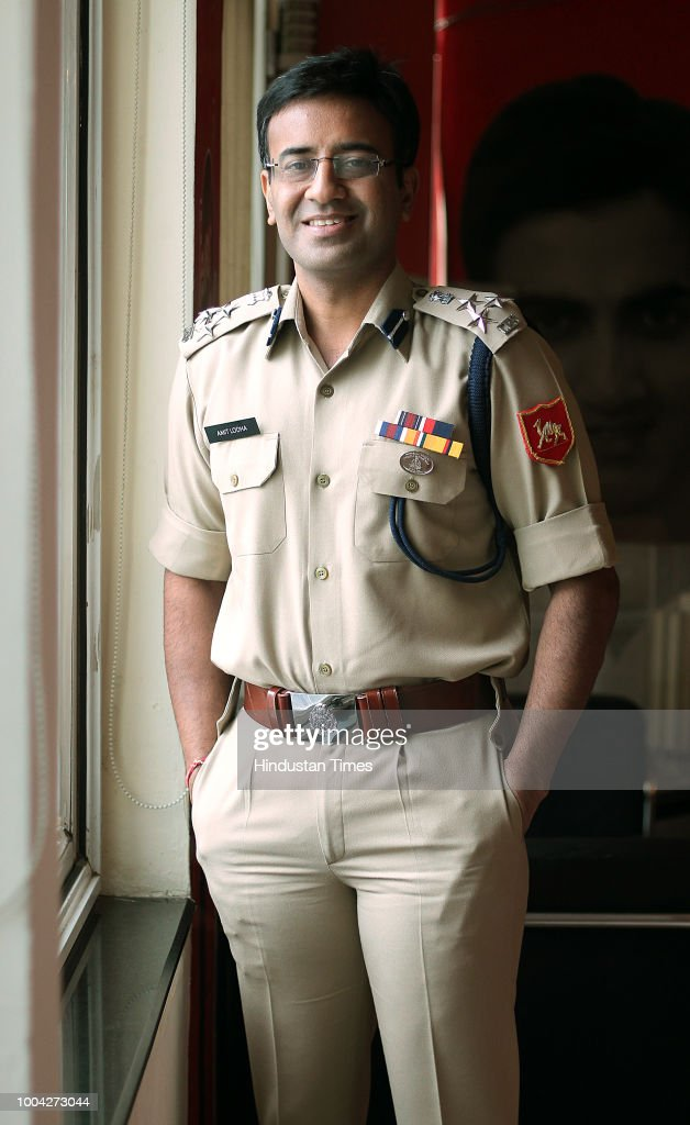 Profile Shoot Of BSF DIG Amit Lodha