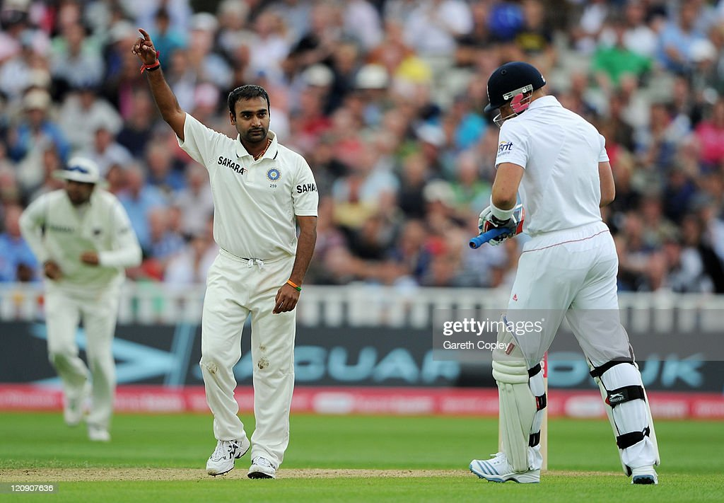 England v India: 3rd npower Test - Day Three