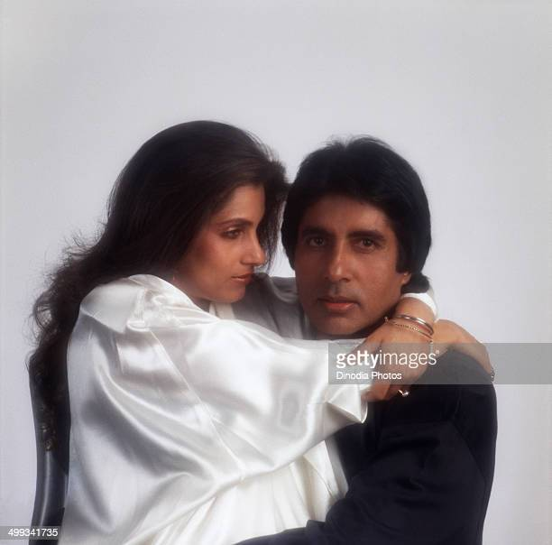 1988 Amitabh Bachchan and Dimple Kapadia