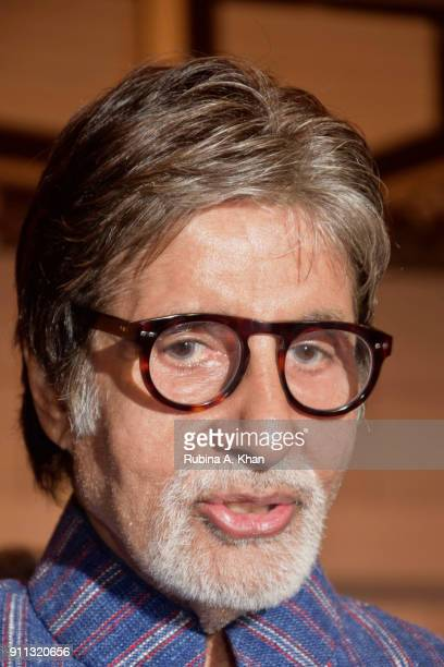 Amitabh Bachchan at digital artist Dilip De's Smartphone School Of Art Exhibit 'Celebration Of The Unexpected' at Jehangir Art Gallery on January 26...