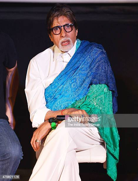 Amitabh Bachchan at the teaser launch of the movie Wazir in Mumbai
