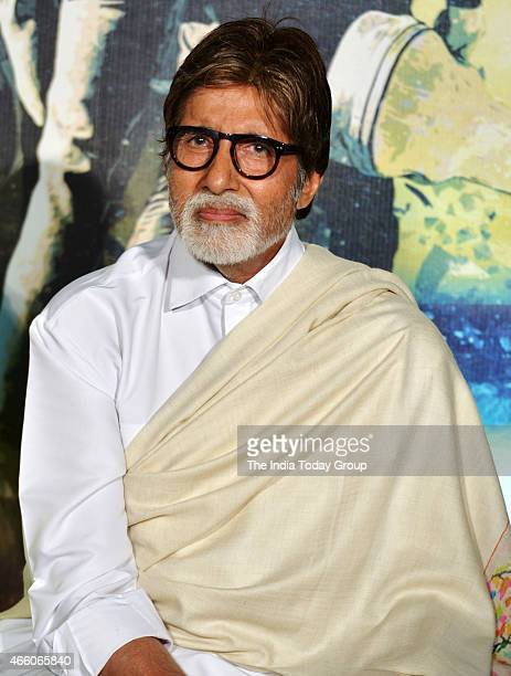 Amitabh Bachchan at the Trailer launch of Hollywood venture Broken Horses in Mumbai