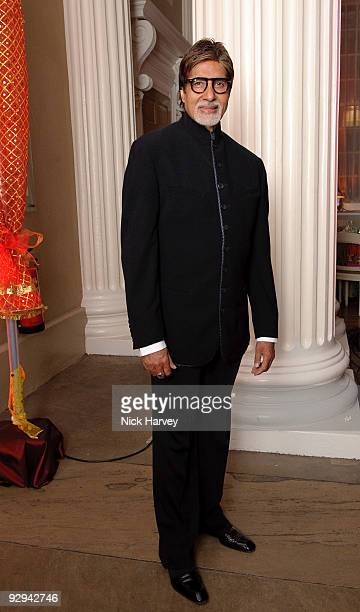 Amitabh Bachchan attends the Royal Rajasthan charity Gala on November 9 2009 in London England