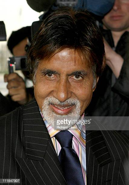 Amitabh Bachchan during The International Indian Film Academy Awards Launch Photocall at Madame Tussauds in London Great Britain