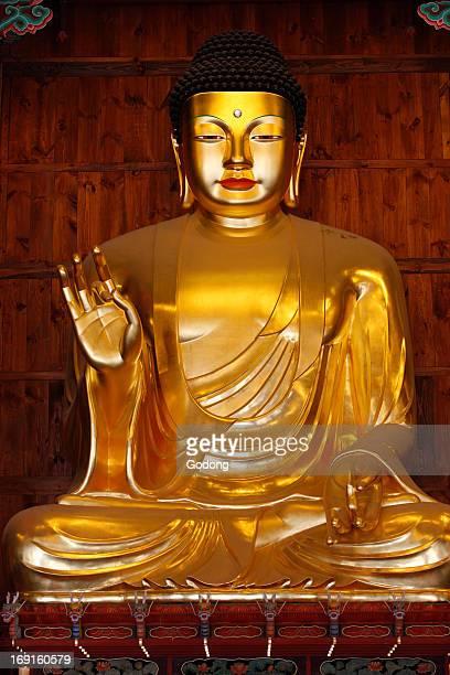 Amitabha Buddha Jogysea temple Main Hall