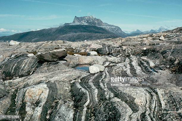 amitsoq gneiss - gneiss stock pictures, royalty-free photos & images