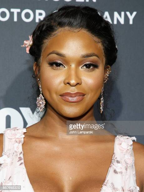 Amiyah Scott attends 'Empire' 'Star' celebrate FOX's New Wednesday Night at One World Observatory on September 23 2017 in New York City