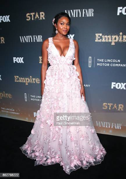 Amiyah Scott attends 'Empire' 'Star' Celebrate FOX's New Wednesday Night Red Carpet at One World Observatory on September 23 2017 in New York City