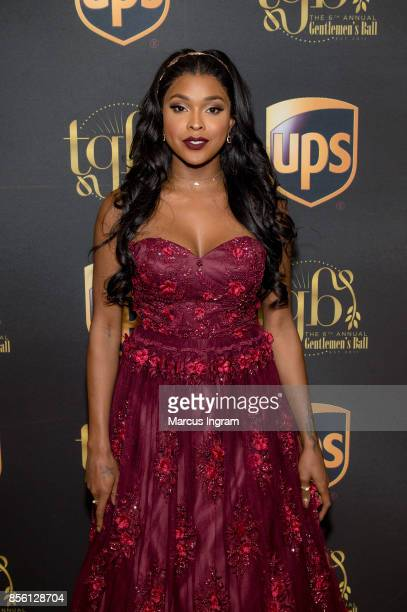 Amiyah Scott attends The 6th Annual Gentlemen's Ball at Atlanta Marriott Marquis on September 30 2017 in Atlanta Georgia