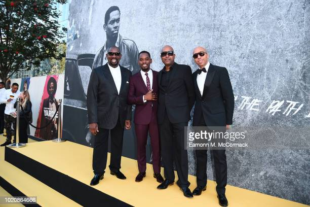Aml Ameen and guests attend the Premiere of Yardie Yardie is released in UK cinemas on 31st August at BFI Southbank on August 21 2018 in London...