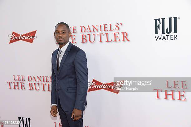 Aml Ameen attends the Los Angeles premiere of 'Lee Daniels' The Butler' at Regal Cinemas LA Live on August 12 2013 in Los Angeles California