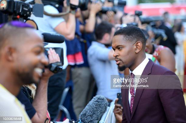 Aml Ameen attends the Premiere of Yardie Yardie is released in UK cinemas on 31st August at BFI Southbank on August 21 2018 in London England
