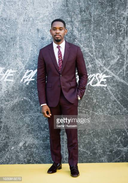 Aml Ameen attends the UK premiere of 'Yardie' at BFI Southbank on August 21 2018 in London England