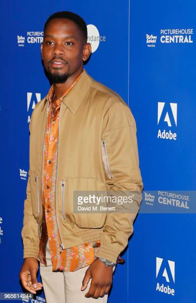 Aml Ameen attends the 'Yardie' screening during the Sundance Film Festival London at the Picturehouse Central on June 1 2018 in London England