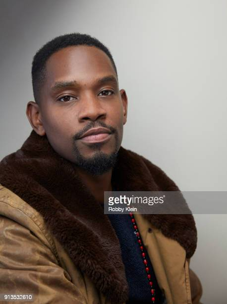 Aml Ameen from the film 'Yardie' pose for a portrait in the YouTube x Getty Images Portrait Studio at 2018 Sundance Film Festival on January 21 2018...