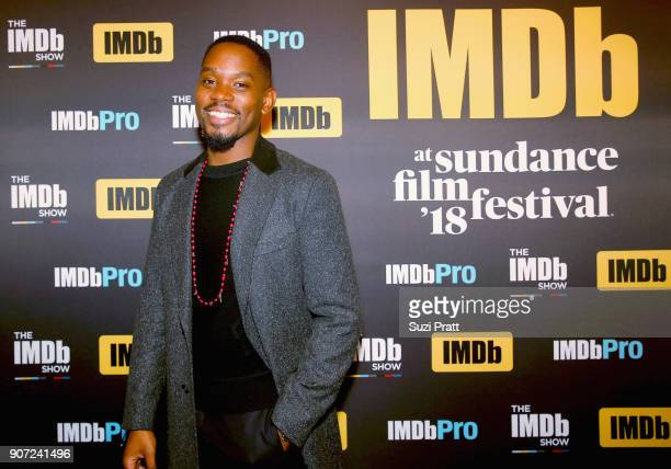 Aml Ameen of 'Yardie' attends The IMDb Studio at The Sundance Film Festival on January 19 2018 in Park City Utah