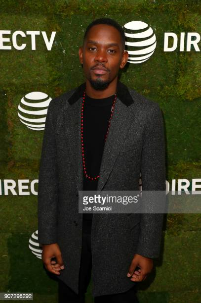 Aml Ameen stops by DIRECTV Lodge presented by ATT during Sundance Film Festival 2018 on January 19 2018 in Park City Utah