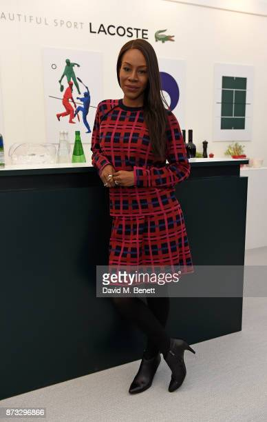 Amma Asante attends Lacoste VIP Lounge during 2017 ATP World Tour at The O2 Arena on November 12 2017 in London England