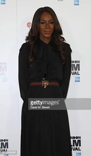 Amma Asante attends the 'A United Kingdom' photocall during the 60th BFI London Film Festival at The Mayfair Hotel on October 5 2016 in London England