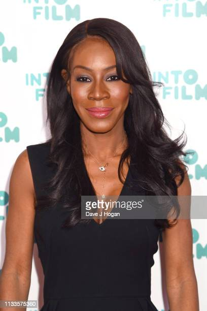 Amma Asante attends the Into Film Award 2019 at Odeon Luxe Leicester Square on March 04 2019 in London England